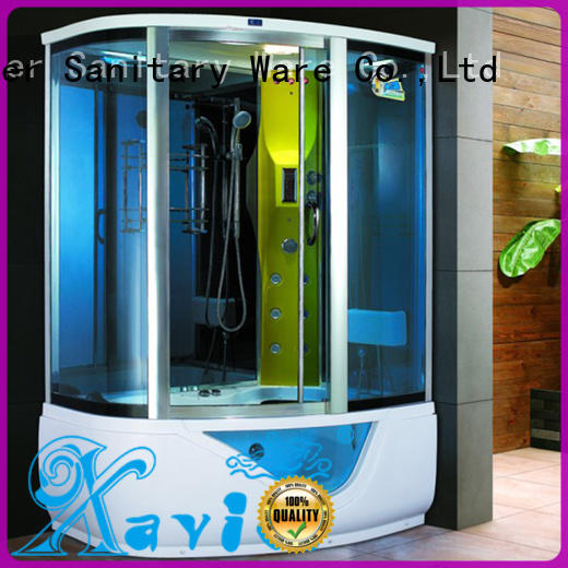 Xavier durable steam shower tub combo online for hotel