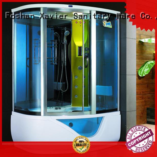 Wholesale steam glass steam shower kit Xavier Brand