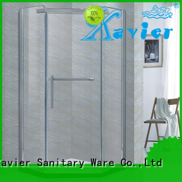 Quality Xavier Brand shower glass shower units