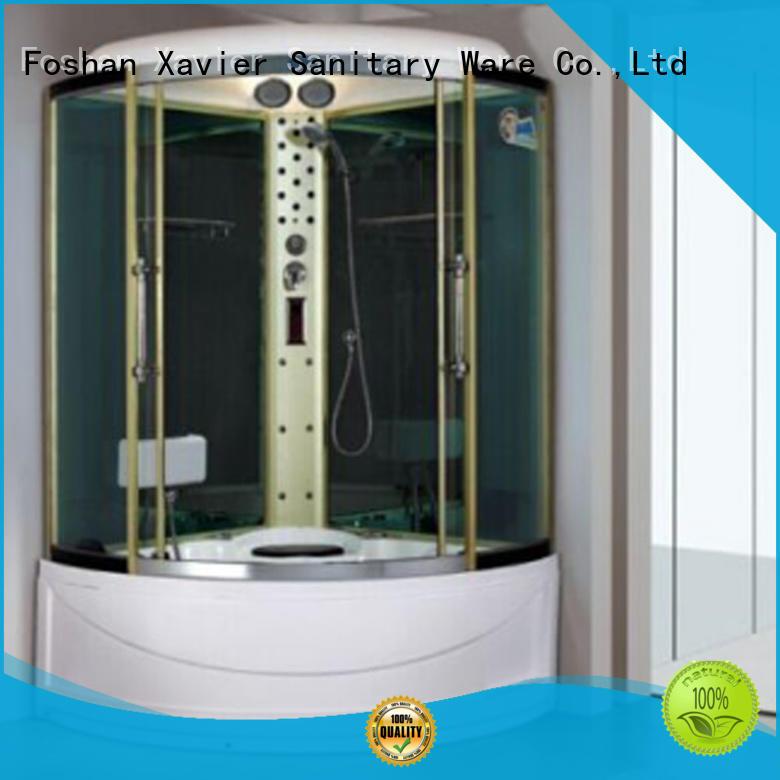 Xavier tv steam shower units online for home