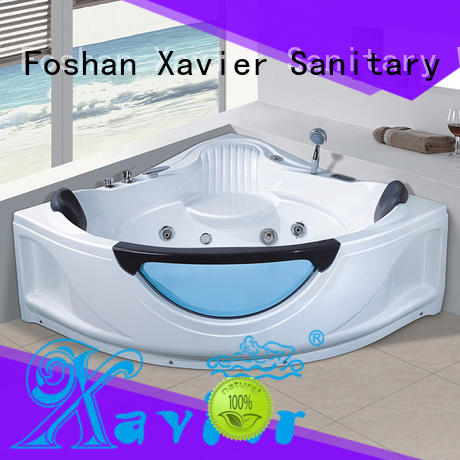 new style bathtub indoor OEM whirlpool tub Xavier