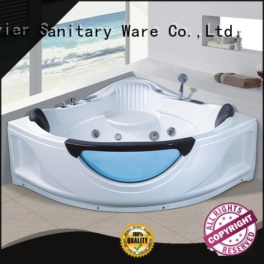modren whirlpool jet tub x151 with berth for resort hotel