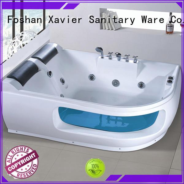 Xavier apron jacuzzi bath tubs with jacuzzi for bathroom