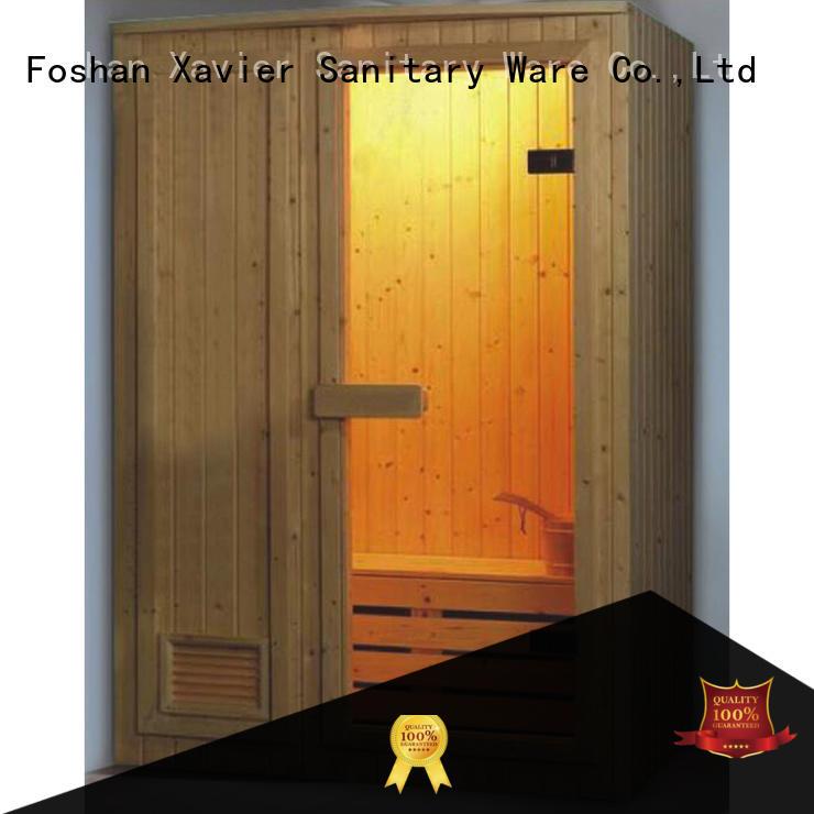 Xavier comfortable home infrared sauna supplier for outdoor