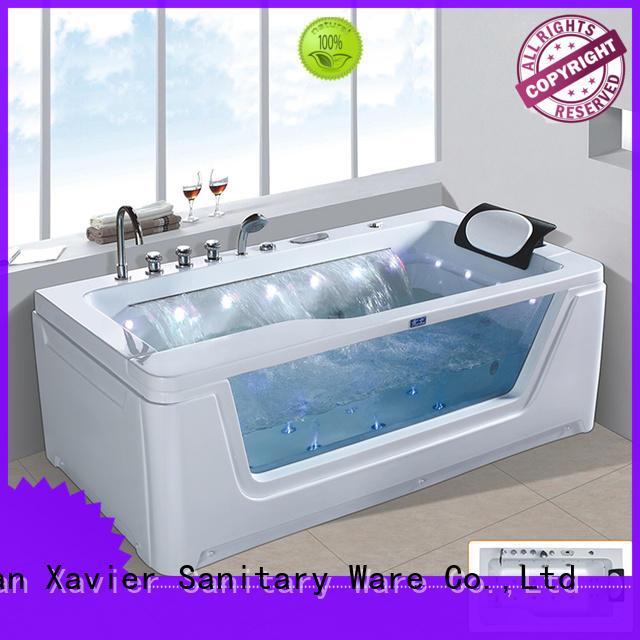 bathtub new style Xavier Brand jetted bathtub factory