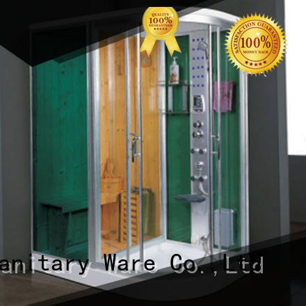 Xavier comfortable sauna and steam room factory price for villa