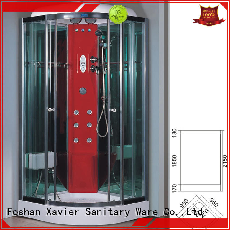 durable steam shower kit zb950 factory price for hotel