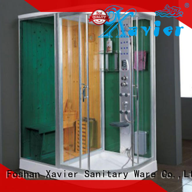 size indoor steam sauna steam for villa Xavier