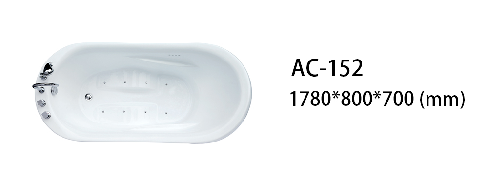Xavier -Freestanding Bathtub | Freestanding Massage Sitting Acrylic Bathtub