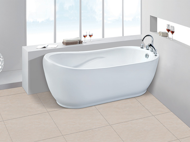 Xavier -Freestanding Bathtub | Freestanding Massage Sitting Acrylic Bathtub-5