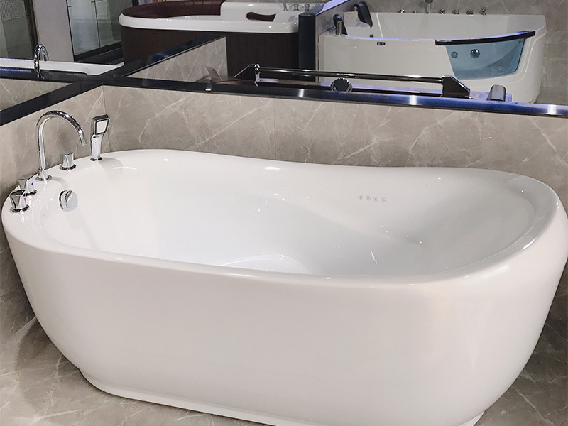 Xavier -Freestanding Bathtub | Freestanding Massage Sitting Acrylic Bathtub-6
