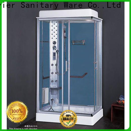 Xavier double steam room shower combo factory price for home
