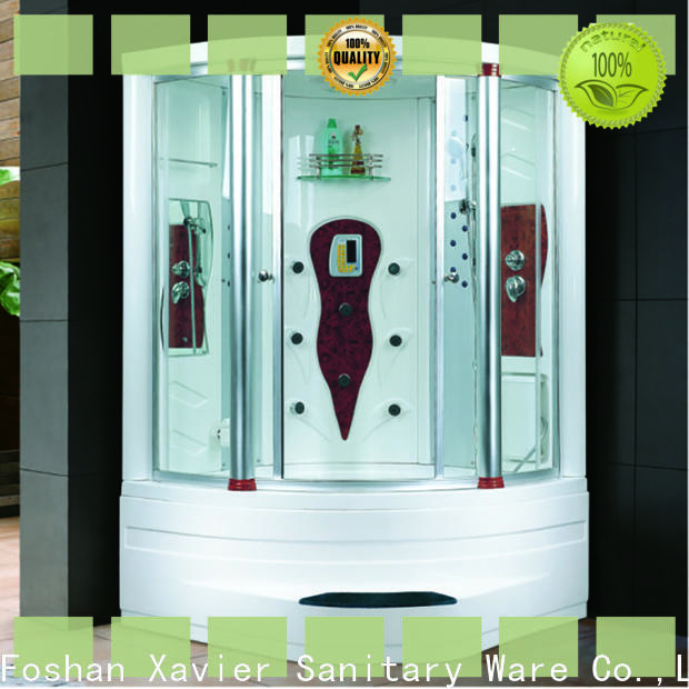 Xavier customized steam shower units factory price for apartment