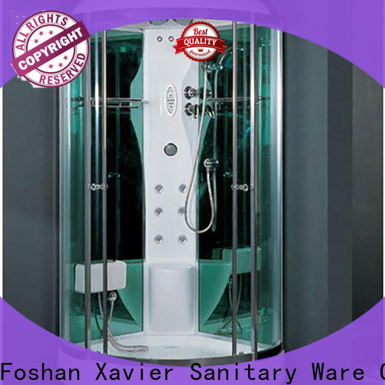 Xavier blue steam room shower combo on sale for home