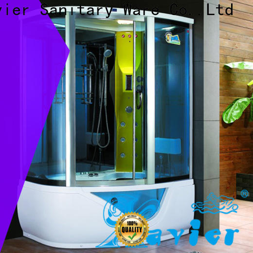 Xavier durable steam shower tub combo factory price for homestay