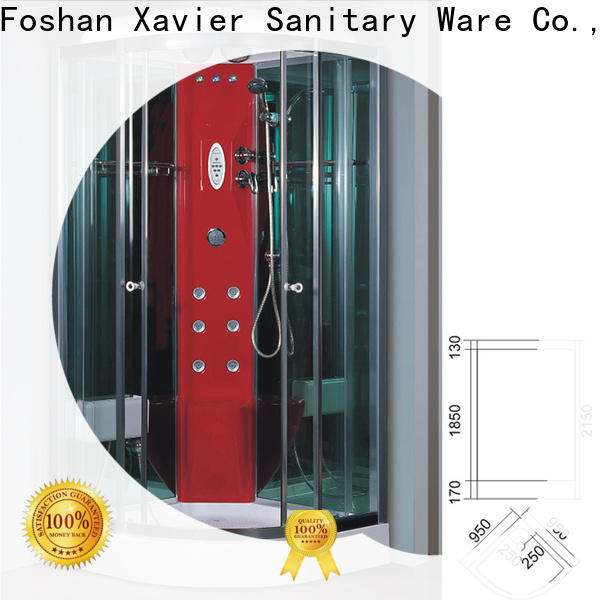 Xavier durable steam room shower combo online for apartment