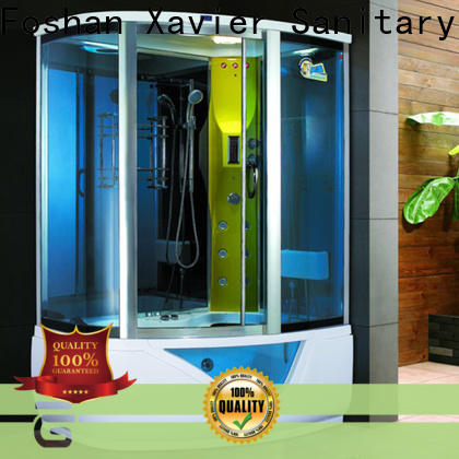 Xavier zb1400tg steam shower cabin supplier for homestay