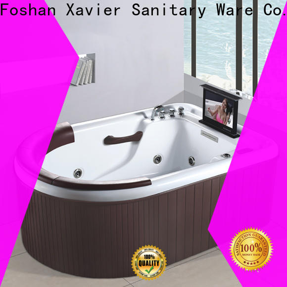 Xavier custom whirlpool jet tub from China for outdoor