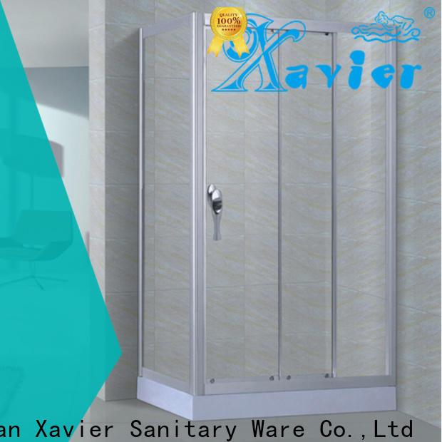 Xavier good quality corner shower enclosures promotion for villa