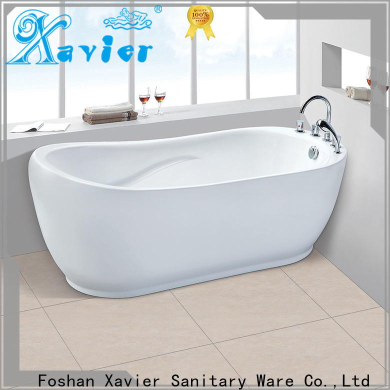 Xavier freestanding modern freestanding tub supplier for home
