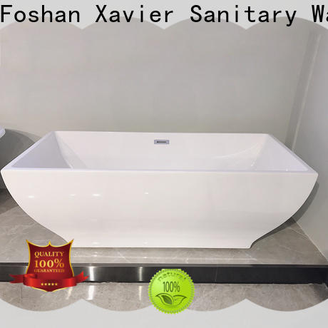 Xavier design free standing baths factory price for hotel
