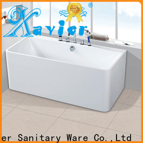 Xavier professional modern freestanding tub with waterfall for homestay
