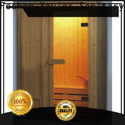 Xavier indoor home infrared sauna supplier for outdoor