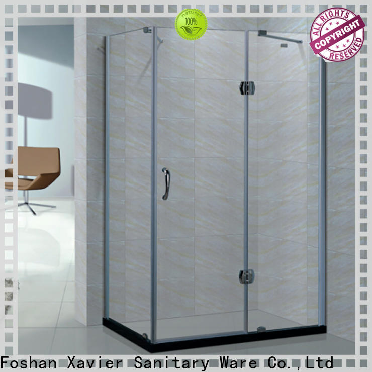 Xavier hotel corner shower enclosures on sale for home