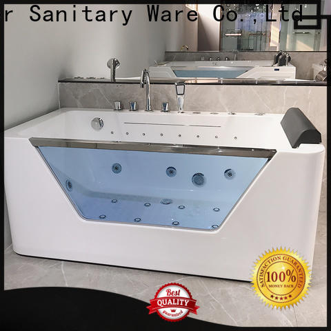 Xavier freestanding soaking tub factory price for homestay