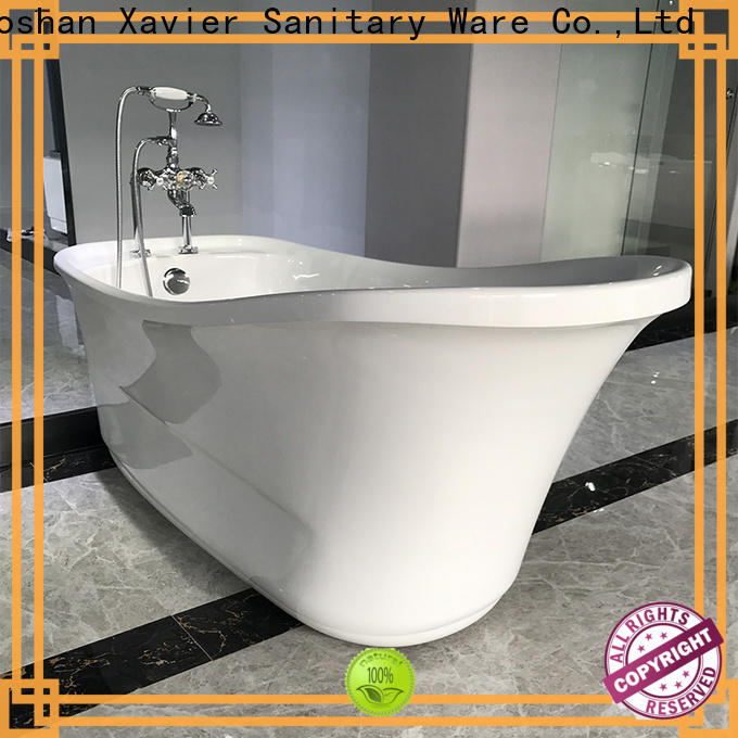 Xavier save space free standing baths supplier for apartment