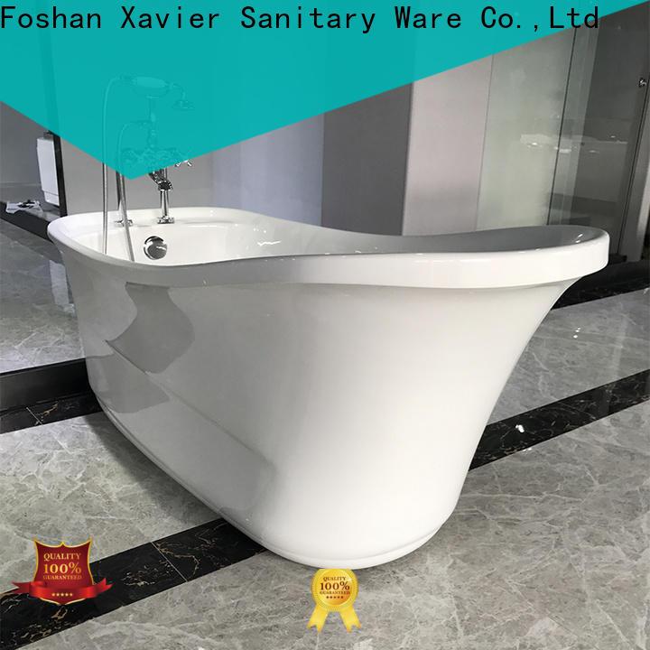Xavier free standing bathtub supplier for apartment