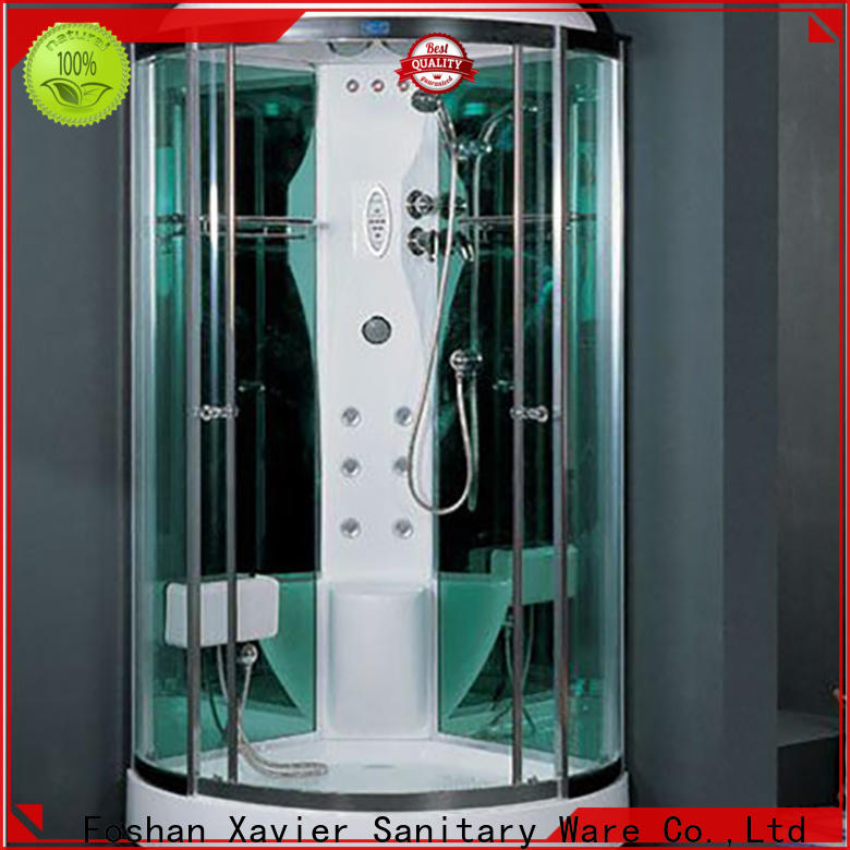 Xavier selling steam shower sauna combo factory price for hotel