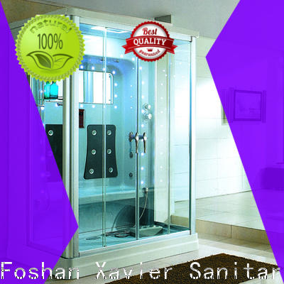 Xavier durable steam room shower combo supplier for villa