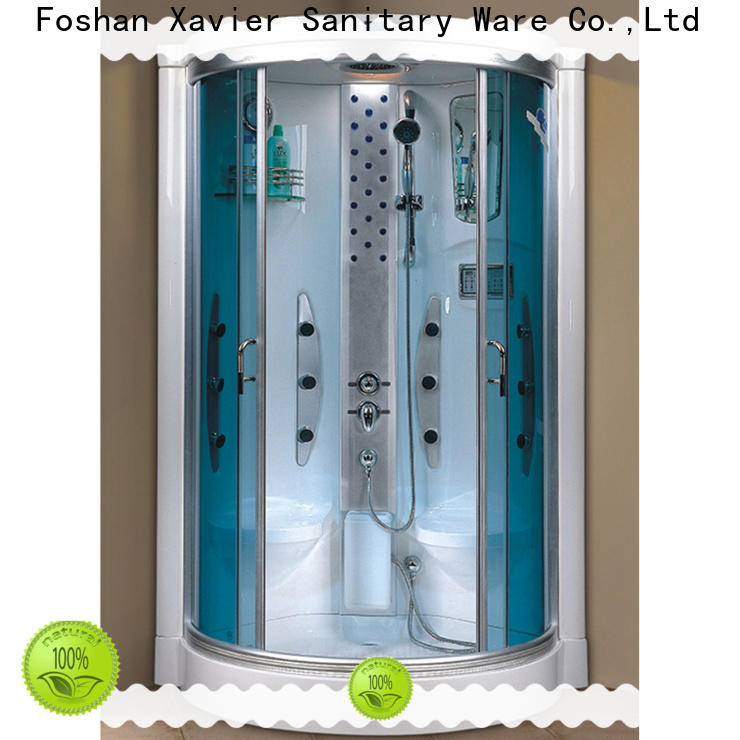 Xavier zf8010lr steam room shower combo on sale for hotel
