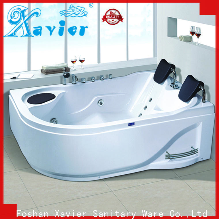 Xavier durable air jet tubs with jacuzzi for two people