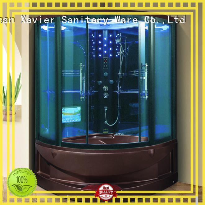 steam shower bath blue for villa Xavier