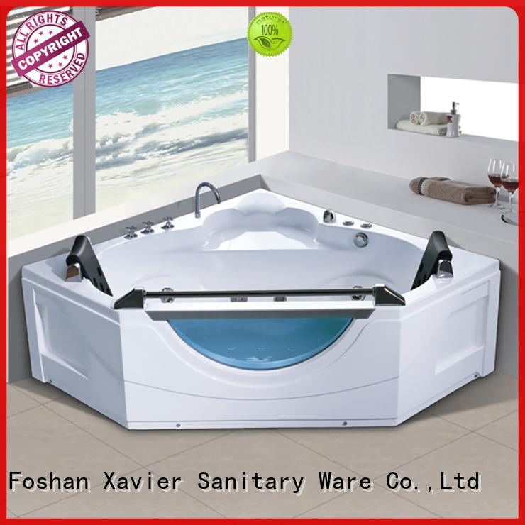 Xavier multi function whirlpool jacuzzi tub online for two people