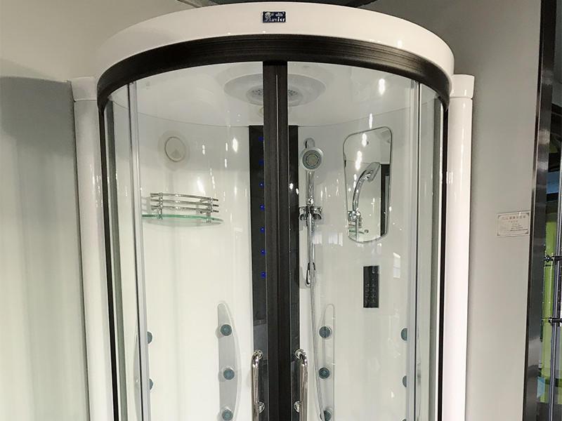 good quality corner steam shower online for homestay Xavier