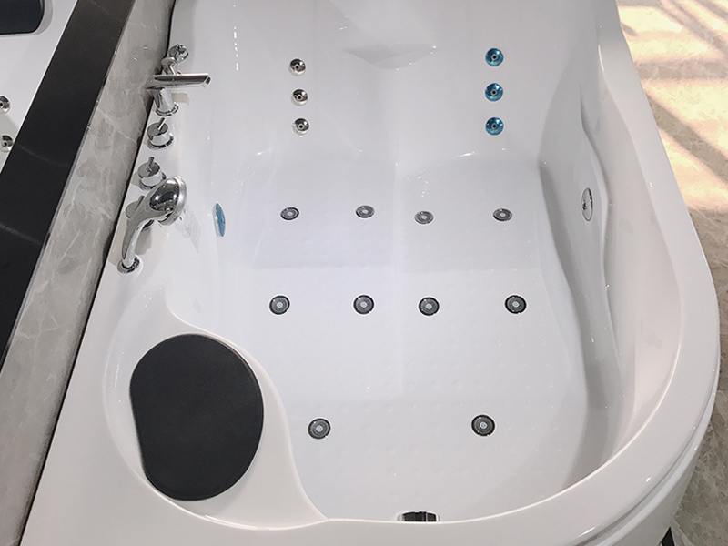 modren corner whirlpool tub x270 with jacuzzi for bathroom-4
