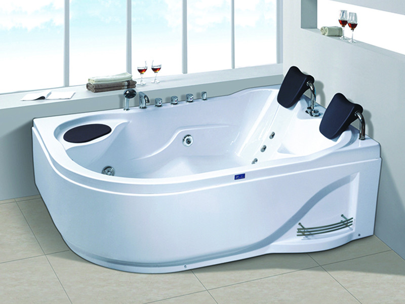 modren corner whirlpool tub x270 with jacuzzi for bathroom-6