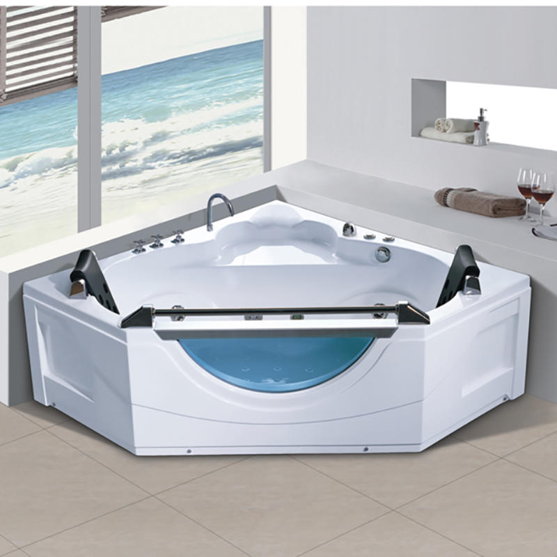 Chinese Supplier Wholesale Cheap price Acrylic Hot Massage Bathtub Indoor X-8043