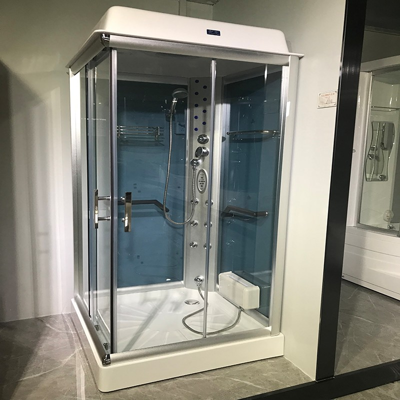 Xavier -High-quality Steam Shower Cabin | 2019 New Steam Room With Coated Glass Zd-8012