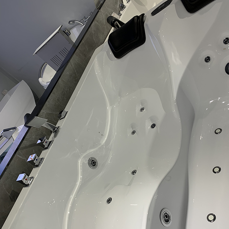 Xavier -Whirlpool Jet Tub Manufacture   Two-person Spa Jacuzzi With Berth X-1913-2