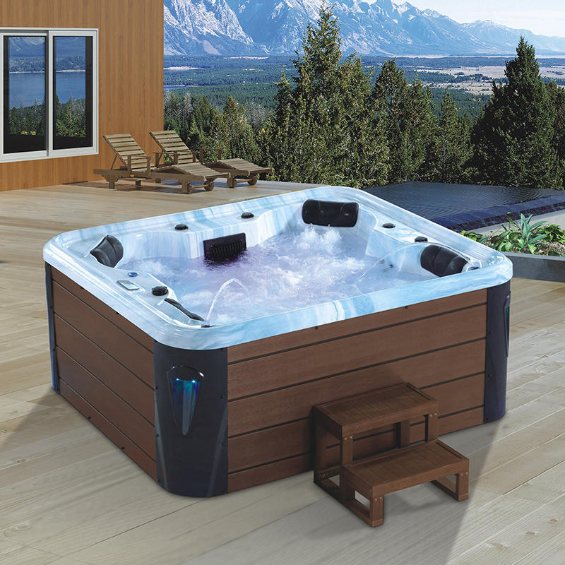 Villa Dedicated Family Outdoor Jacuzzi X-8097B