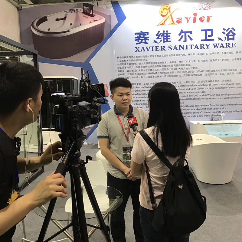 Xavier -Guangzhou International Sanitary Ware Exhibition-3