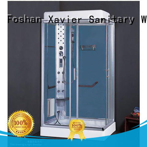 Xavier color steam shower cabin supplier for home