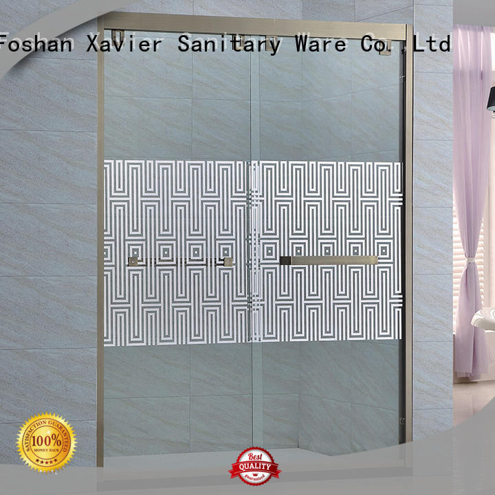 Xavier good quality wet room shower screen promotion for hotel