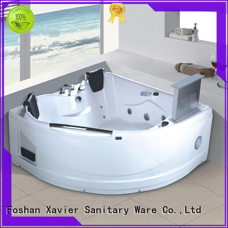 multi function corner whirlpool tub x270 with berth for family