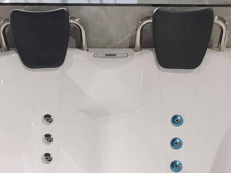 modren corner whirlpool tub x270 with jacuzzi for bathroom-3