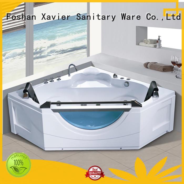 new style jetted bathtub acrylic whirlpool Xavier Brand